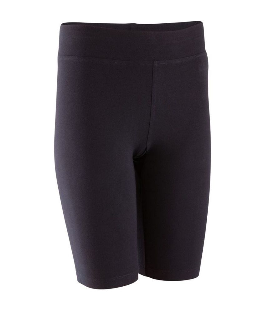 DOMYOS Fit Slim Cyclist 2015 Women's Strength Training Cycling Shorts By Decathlon