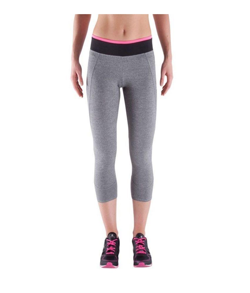 DOMYOS Women's Basic Cardio Leggings - 7/8 By Decathlon