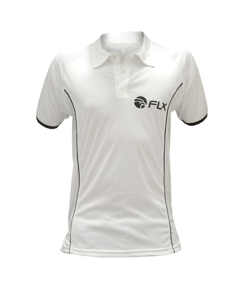 FLX Classic Cricket T-shirt By Decathlon