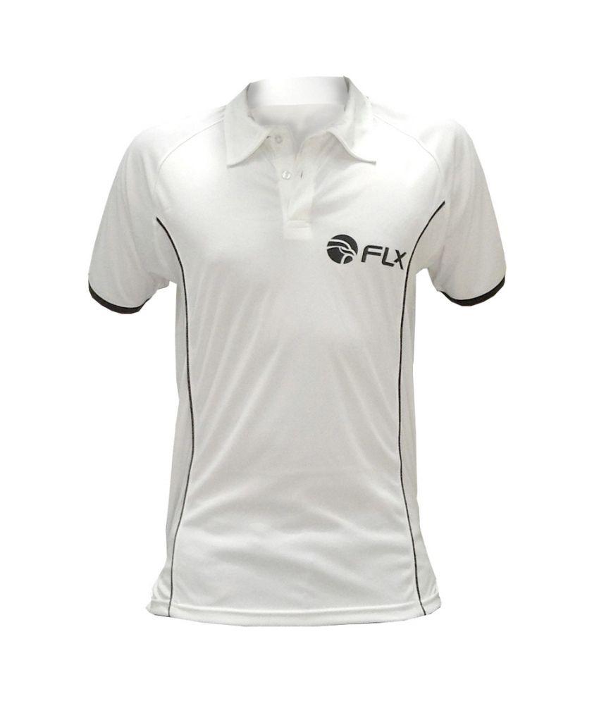 FLX Classic Cricket T-shirt By Decathlon