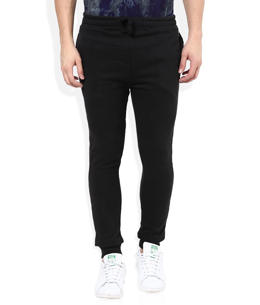 Breakbounce Black Regular Fit Jogger