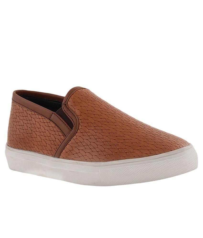Bruno Manetti Tan Sneakers