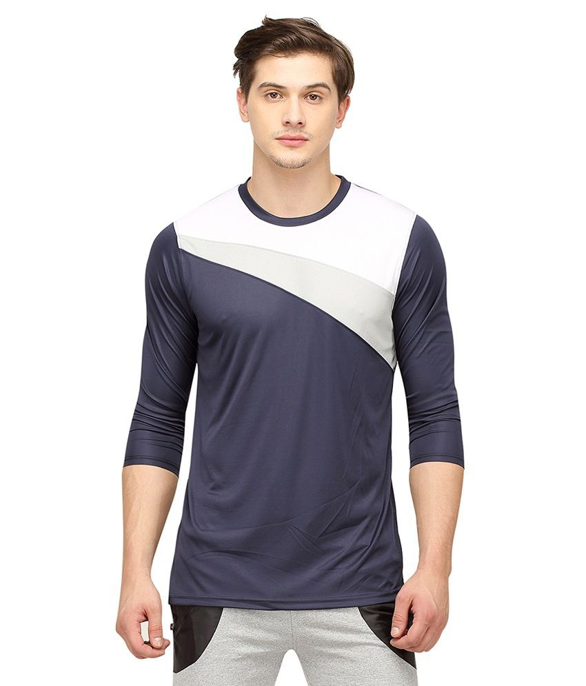 Campus Sutra T Shirts (Navy & White)