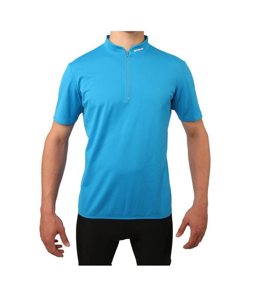 BTWIN Short Sleeved Cycling Jersey 300 By Decathlon  Buy Online at Best  Price on Snapdeal 73818cb39