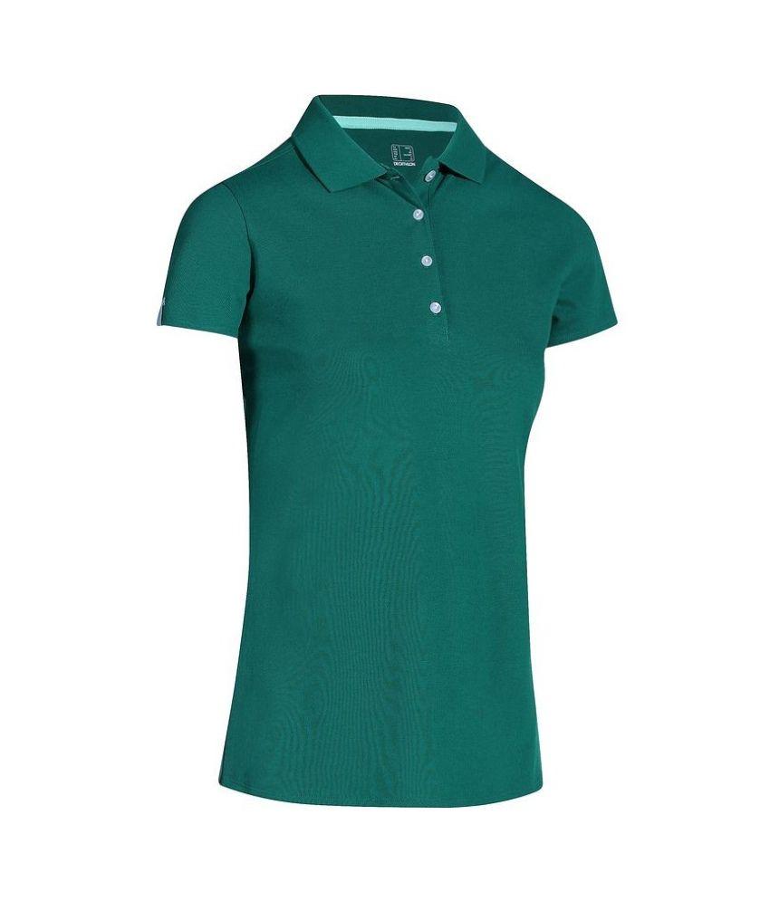 Inesis Blue Women's Polo T Shirt By Decathlon