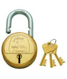 Godrej Golden Alloy Lock With 3 Keys