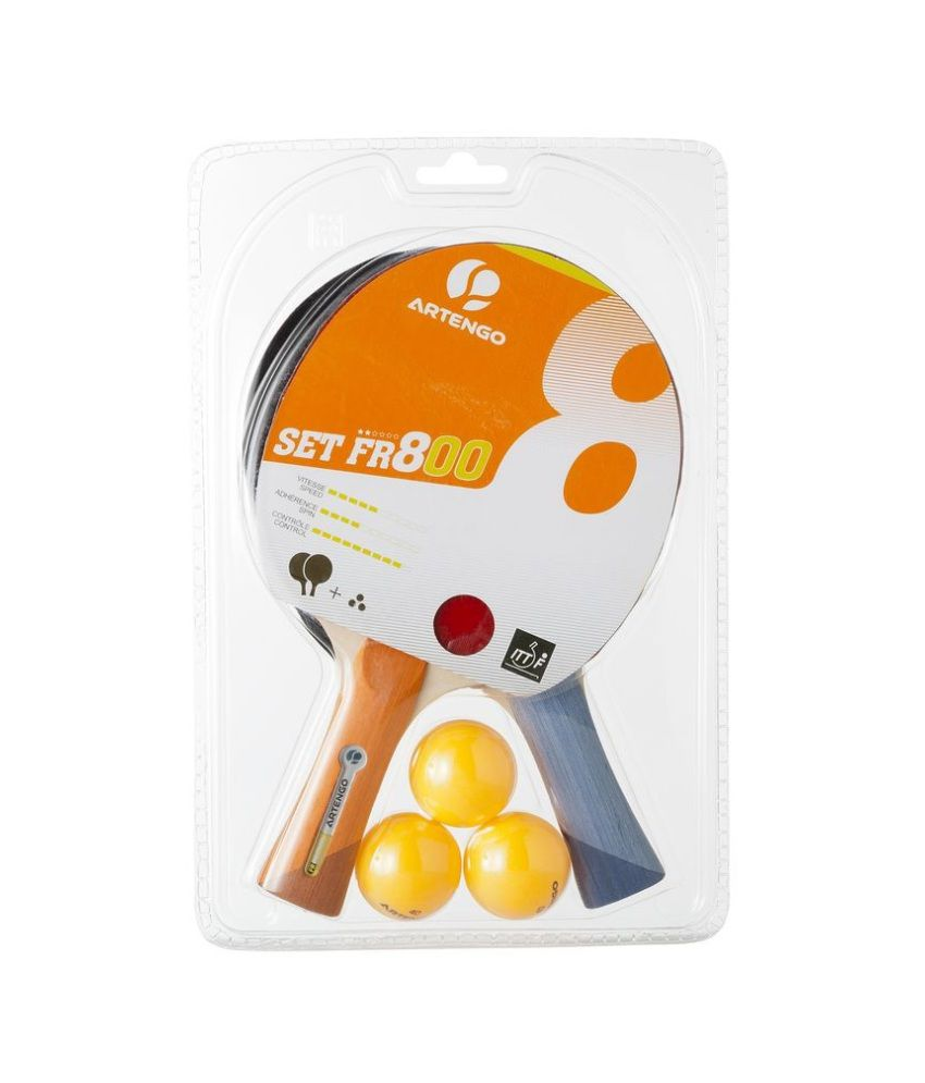 2e21fb318 ARTENGO Fr 800 Table Tennis (Set Of 2) By Decathlon  Buy Online at Best  Price on Snapdeal