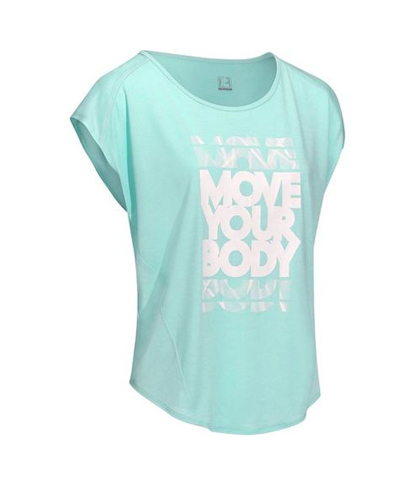 DOMYOS Energy Women's Cardio T-Shirt By Decathlon