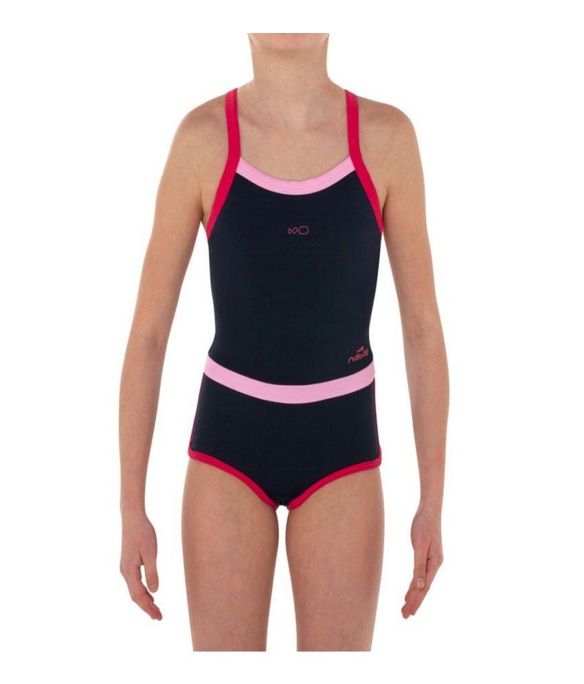 NABAIJI Debo Light Shorty Girls Swimwear By Decathlon/ Swimming Costume
