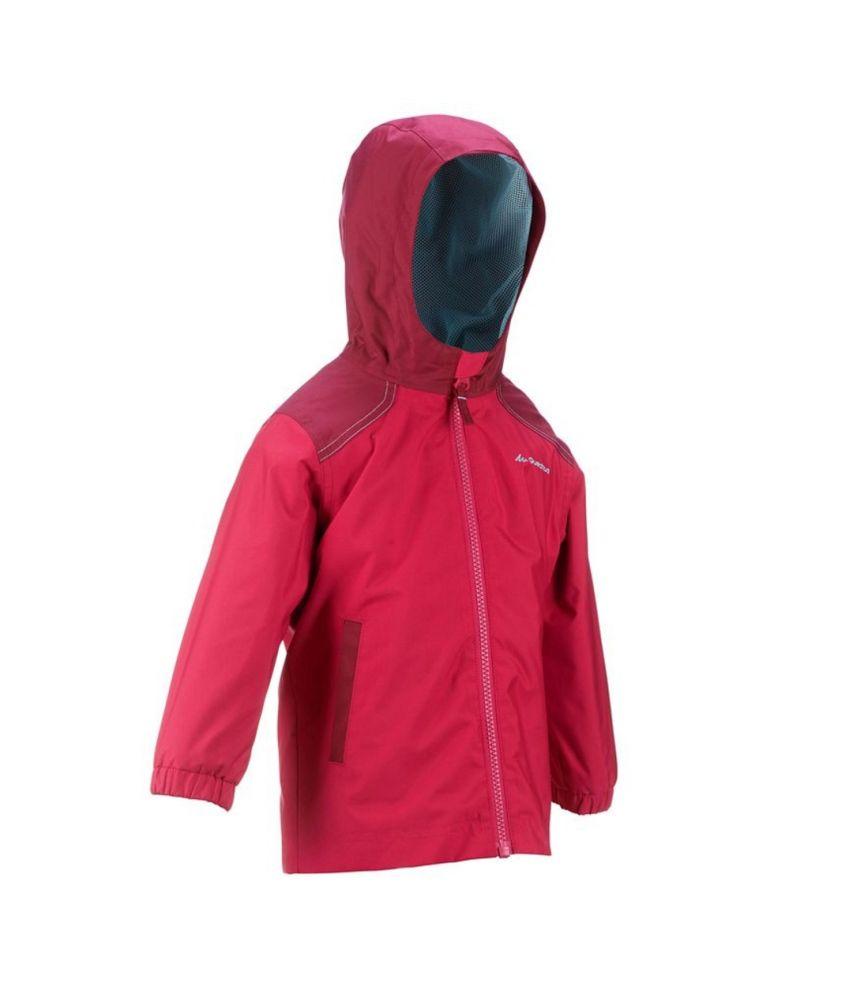 QUECHUA Arpenaz 200 Kids Hiking Jacket By Decathlon