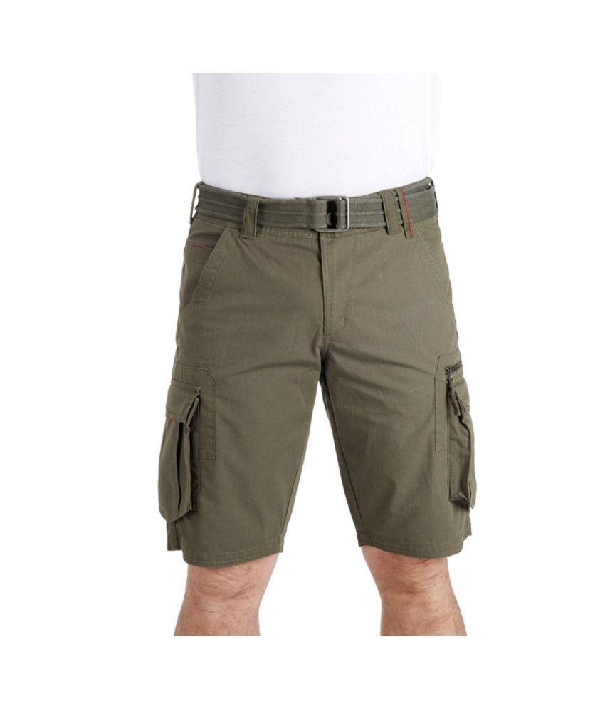 b4b52f74b5 QUECHUA Arpenaz 500 Men's Hiking Cargo Shorts By Decathlon: Buy ...