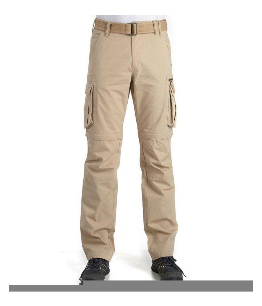 617281176b ... QUECHUA Arpenaz 500 Men's Convertible Hiking Trousers By Decathlon ...
