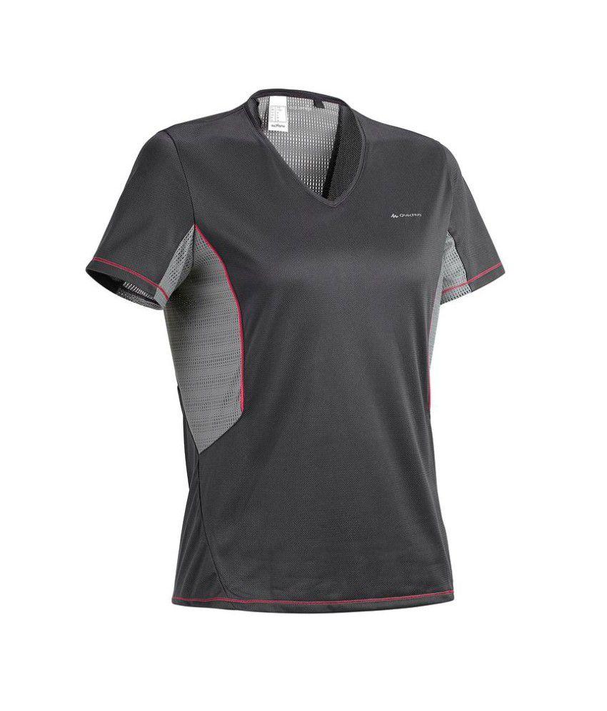 QUECHUA Forclaz 100 Women's Hiking T-Shirt By Decathlon