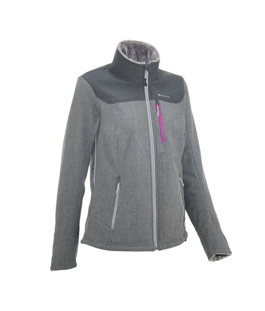 QUECHUA Forclaz 300 Warm Women's Softshell Jacket By Decathlon