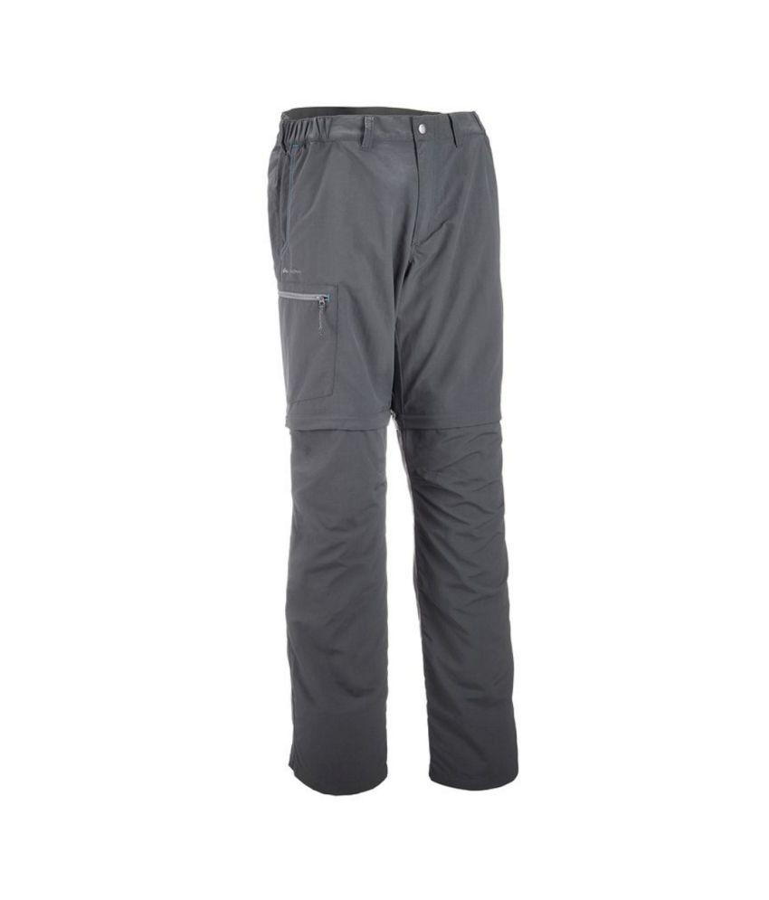 QUECHUA Forclaz 50 Men's Hiking Convertible Trousers By Decathlon