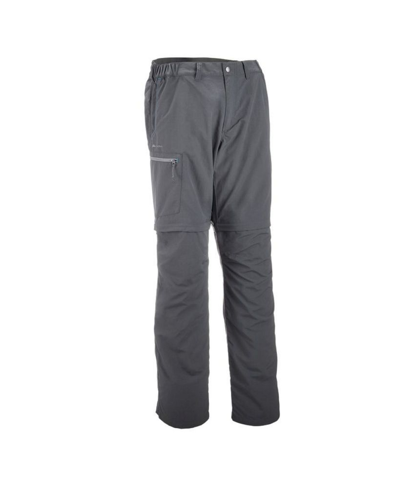 QUECHUA Forclaz 50 Men's Hiking Convertible Trousers By Decathlon