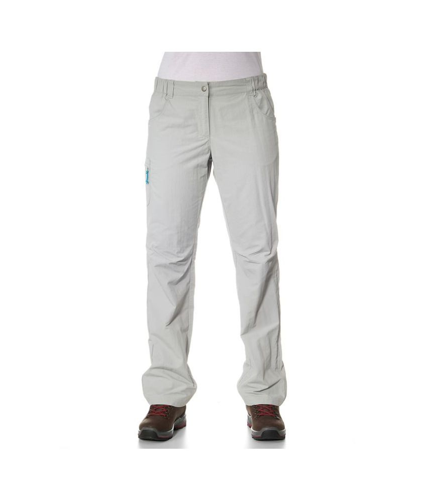 QUECHUA Forclaz 50 Women's Hiking Trousers By Decathlon
