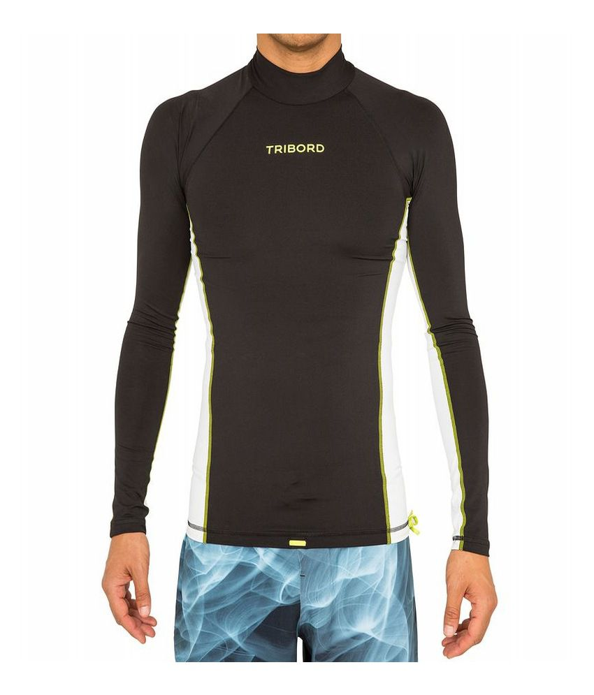 Tribord UV 100 Long Sleeves Adult Rash Vest By Decathlon