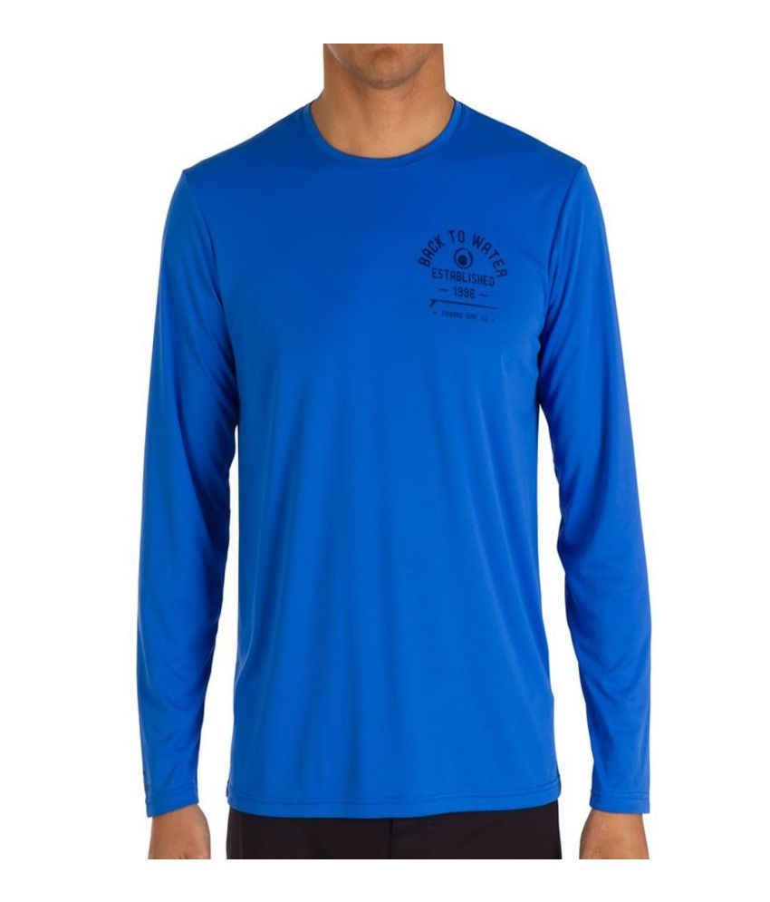 Tribord UV Water T Shirt Long Sleeves Men Surfing By Decathlon