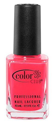 Color Club Imported Color Club Nail Polish, Pink, Youthquake, .05 Ounce
