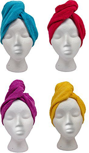 Turbie Twist Imported Turbie Twist Hair Towels Cotton Calypso