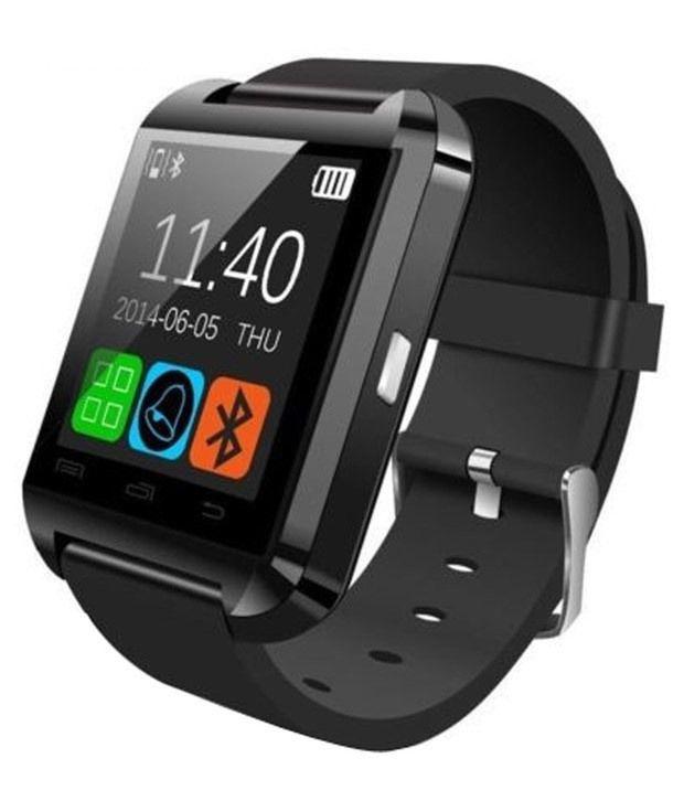 Bluetick u8 Smart Watches Black