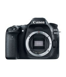 Canon 80D Body Only , Memory card and Bag