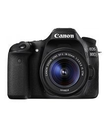 Canon 80D with EF-S 18mm-55mm IS STM Lens , Memory card and Bag