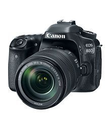 Canon 80D with EF-S 18mm-135mm IS USM Lens , Memory card and Bag