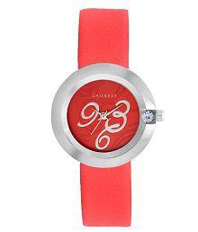 Laurels Premium Princess Women's Watch (LL-Pr-Red)