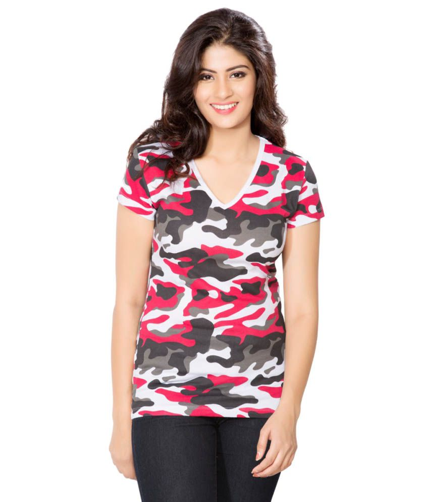 Clifton Pink Army T-shirt for Women