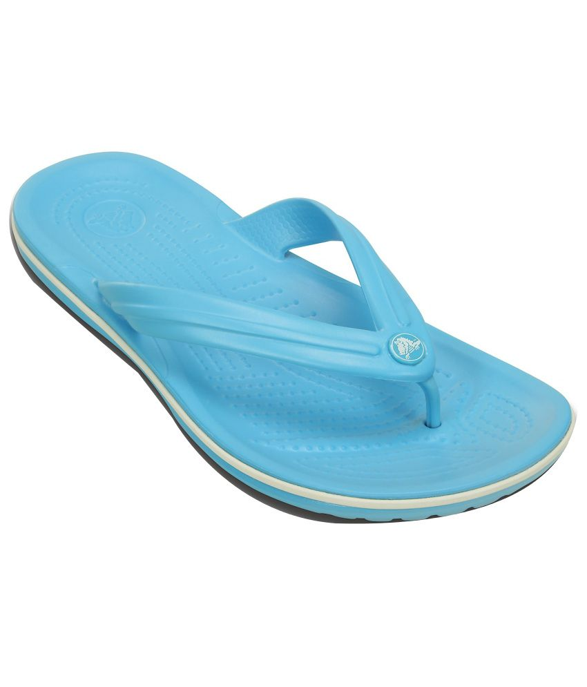 24dd963cc Crocs Blue Slippers   Flip Flops Relaxed Fit Price in India- Buy Crocs Blue  Slippers   Flip Flops Relaxed Fit Online at Snapdeal