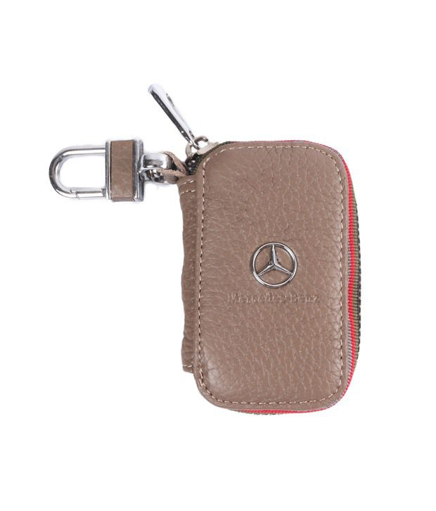 Heaven Deal Brown Leather Key Chain Holder for Men