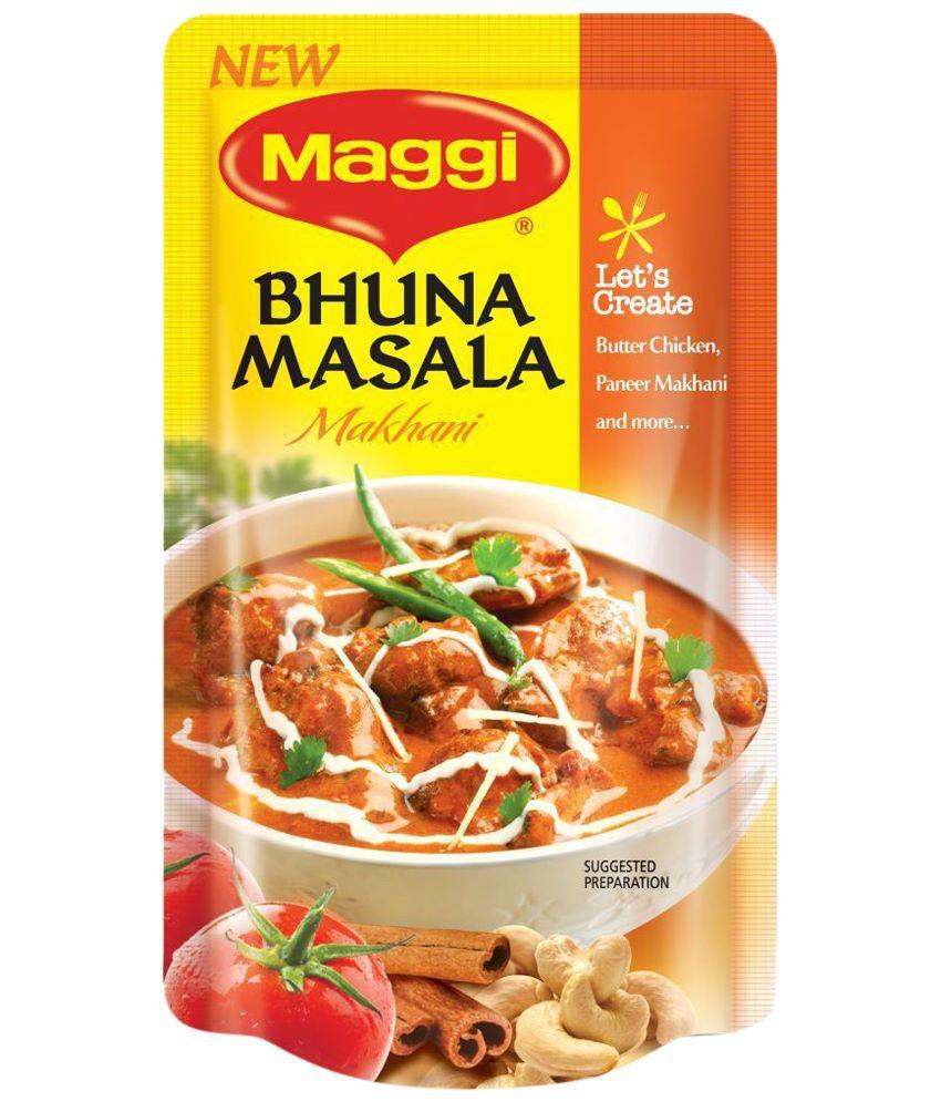 Maggi Bhuna Makhani Masala- Pack of 3
