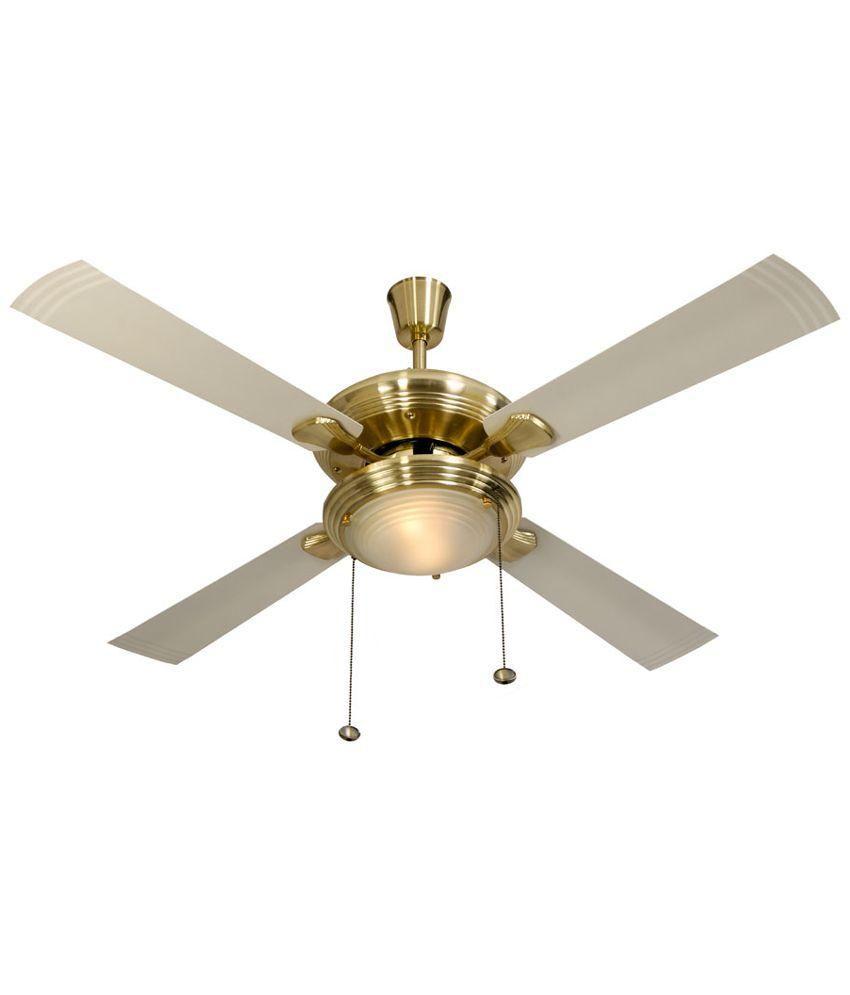 Usha 48 Inches Fontana One Ceiling Fan Beige Price In
