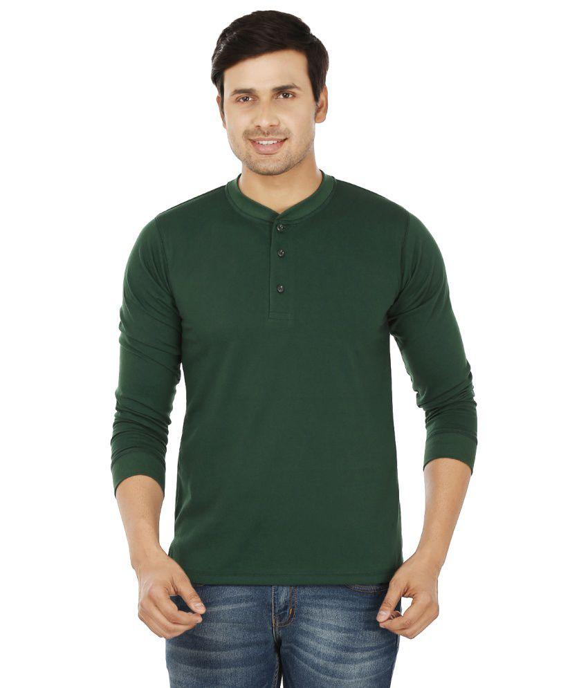 weardo green henley t shirts buy weardo green henley t