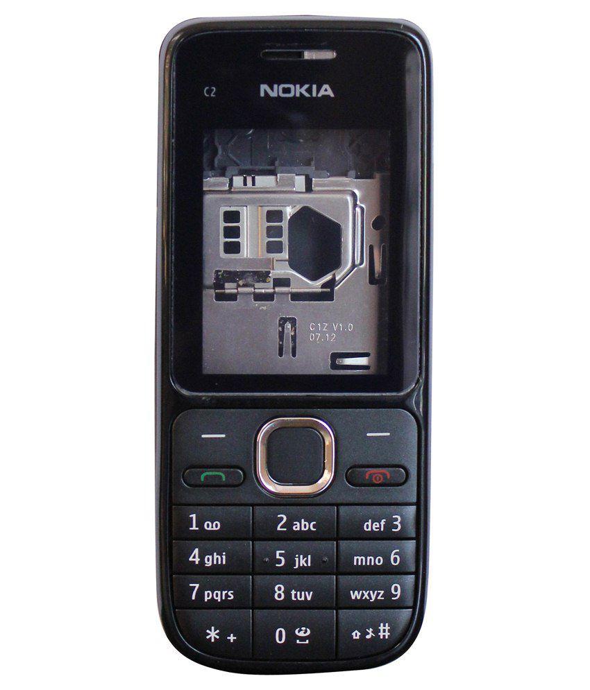 original nokia c2 01 full housing body panel 100 genuine free sim rh snapdeal com Nokia C2- 00 Nokia C2 01 Disable Voicemail