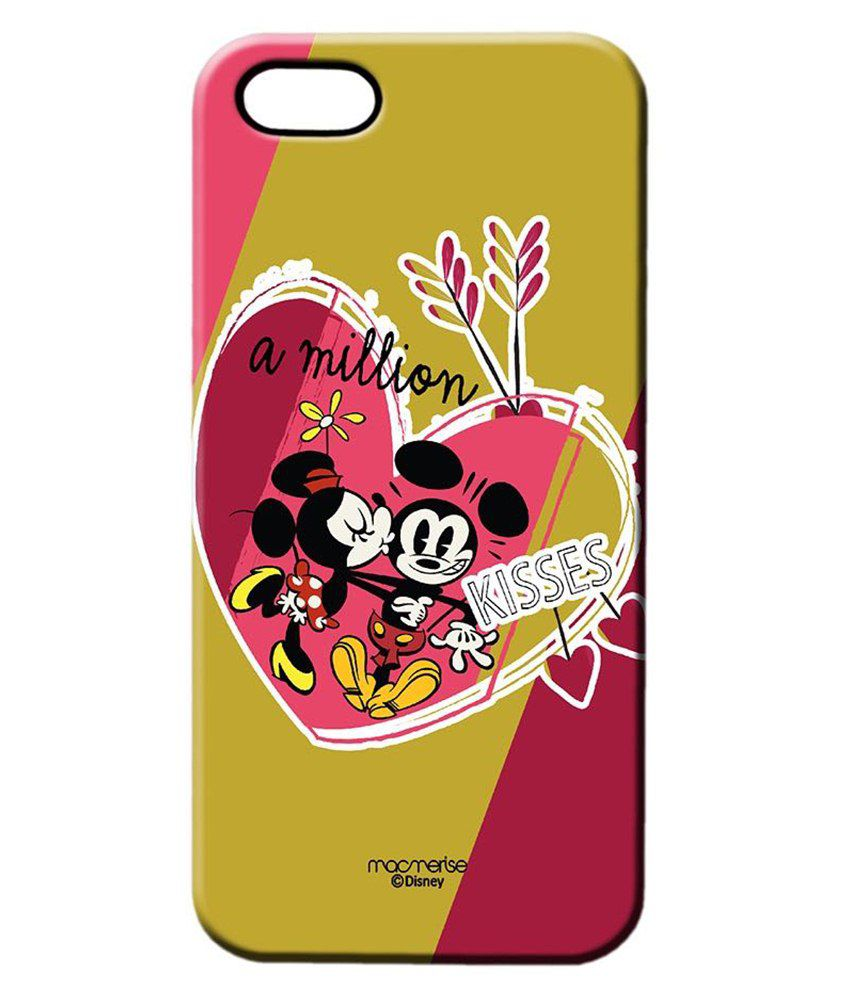 competitive price 17704 61bfb Macmerise Million Kisses Back Cover For Apple iPhone 5/5S-Multicolour