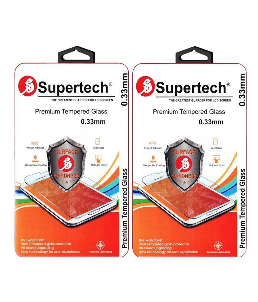 Apple iPhone 5/5S/5C (F&B) Tempered Glass Screen Guard by SUPERTECH
