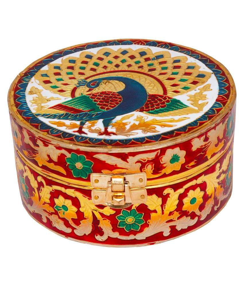 Jaipur Raga Wooden Jewellery Box