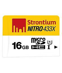 Strontium Nitro 16GB Class 10 Micro SD Card - Pack of 3