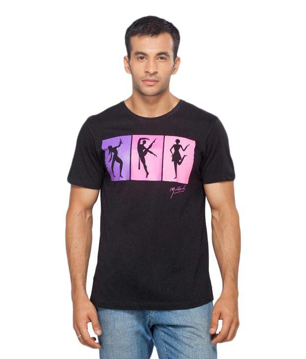 Madz Black Round T Shirts