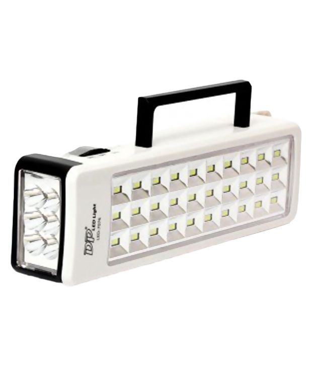 DP 7076 Rechargeable Emergency Light (With Torch)