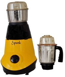 Spunk The Perfect Choice BOLT Mixer Grinder Yellow