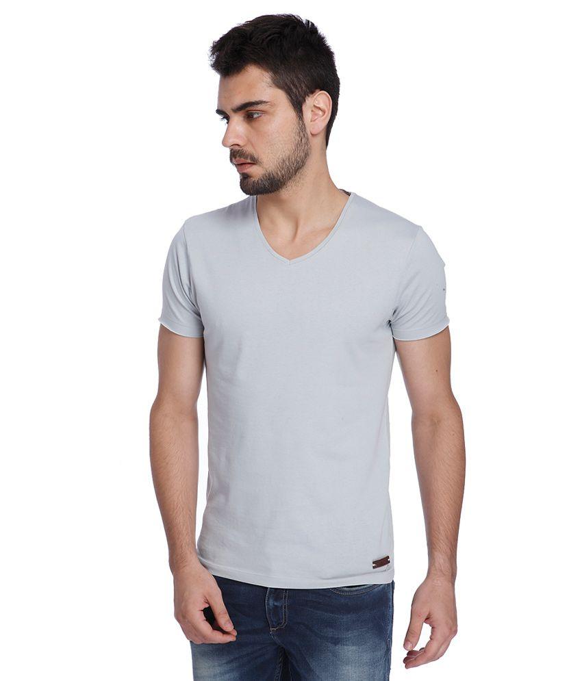 Jack & Jones Blue V-Neck T Shirt