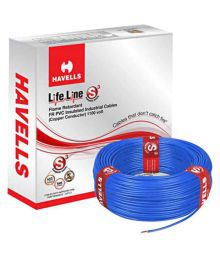 Havells PVC Insulated Core Cable - 4MM (Pack Of 2) - 664863683037