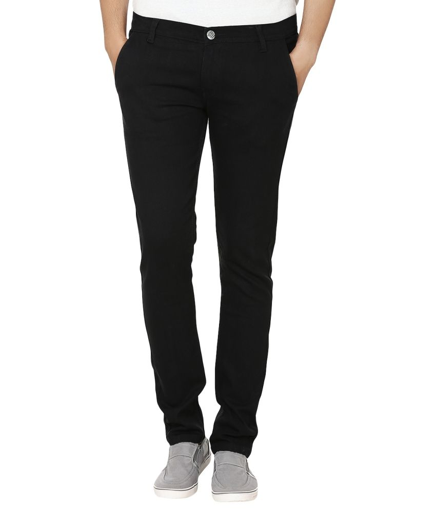 Club Vintage Black Slim Jeans