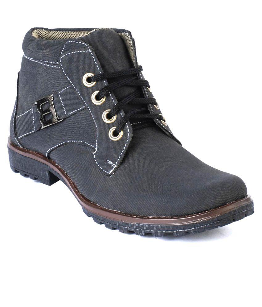 Meetoes Black Boots