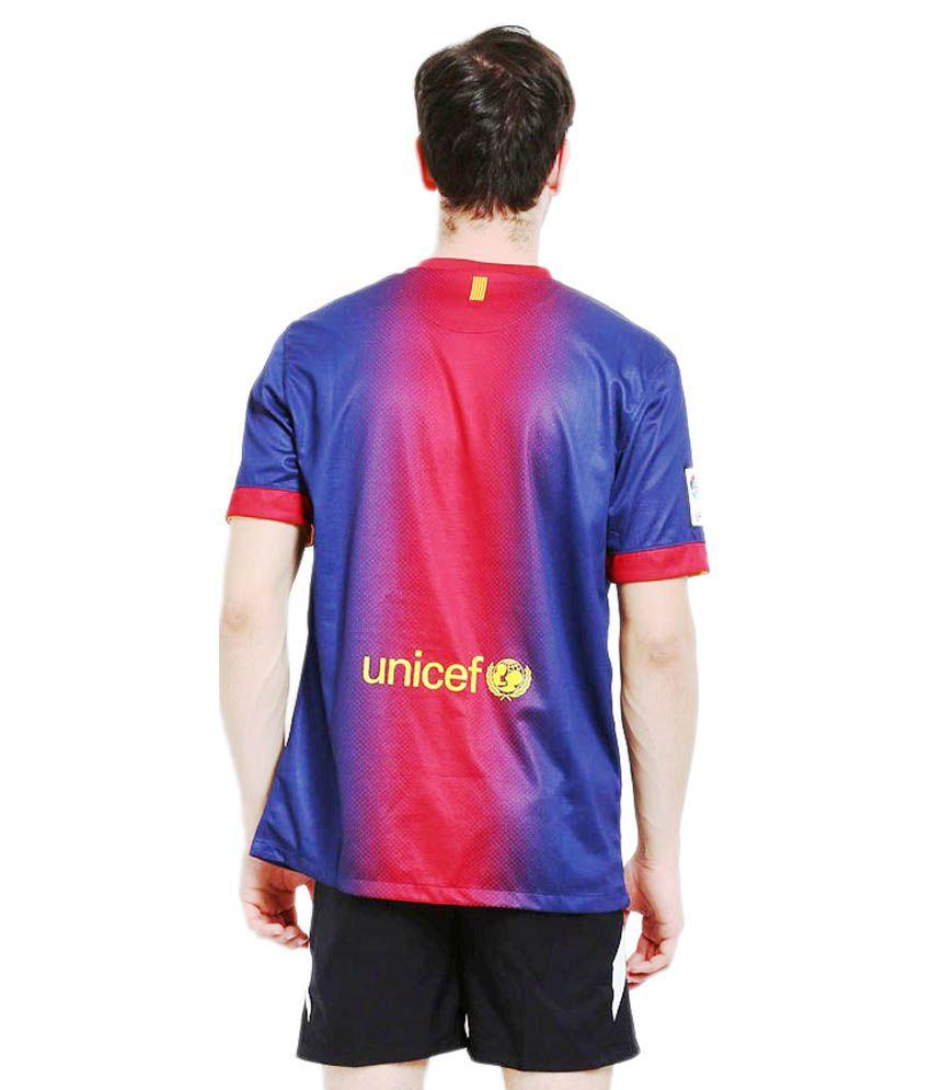 online retailer a4f65 82c42 Nike Blue Barcelona Jersey