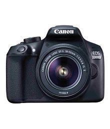 Canon 1300D with EF-S 18mm-55mm IS II Lens + EF-S 55mm-250mm IS II Lens , Memory card and Bag